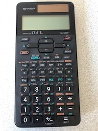 Scientific Calculator SHARP EL-520XT Toronto, M5S 1S5