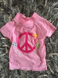 Size 2t swimshirt for baby girls Calgary, T3K 6J7