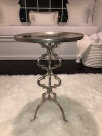 Metal Accent Side Table
