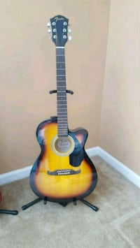 Fender electric acoustic guitar FA135CE