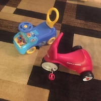 toddler's blue and red ride on toy Alexandria, 22311