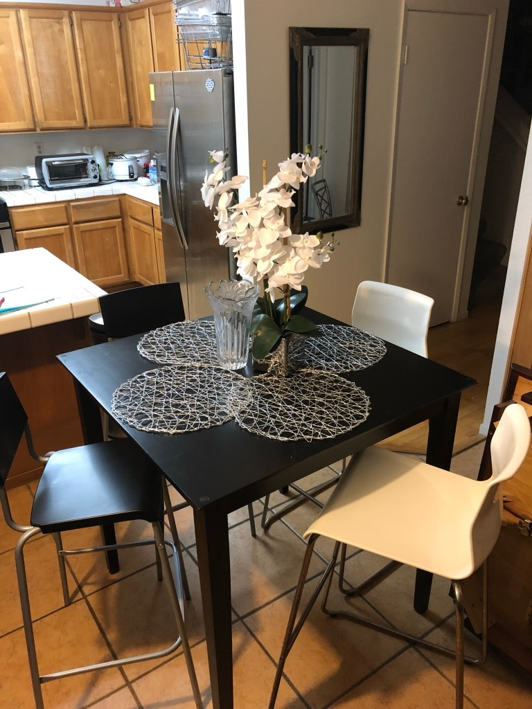 36 x 36 ikea counter high table chairs made in rh tr letgo com