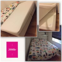 160x200 with matress for sale. Bergen, 5017