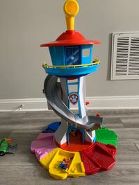 Paw Patrol Lookout Tower / Airplane