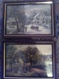 Currier and Ives American Homestead Autumn and win Claremore, 74017