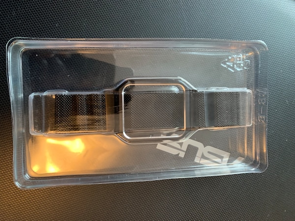 Apple Watch band with screen protector