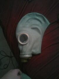 Authentic gas mask