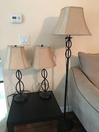 3 piece lamp set Tinton Falls, 07724