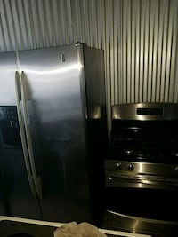 stainless steel side-by-side refrigerator Temple Hills, 20748