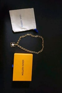 Louis Vuitton necklace gold plated Richmond, V6X 4H4