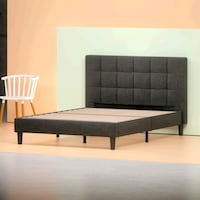 New in box king upholstered tufted bed frame  Bakersfield, 93311