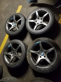 Brand New Winter Tires 225/45/R17 W/ Mags BWM M5/535i/550/640/65 Montreal