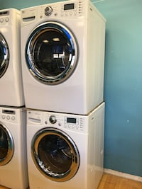 LG Front Load Washer and Electric Dryer Set  Elkridge, 21075
