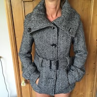 Manteau large col H&M taille 36