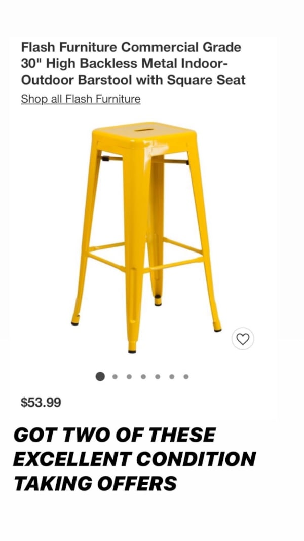 Yellow Target Stools For In Miami