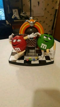 Nice M&M Rock And Roll Jukebox Candy Dispenser  Jessup, 20794
