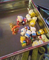 Assorted Hello Kitty figurines Vancouver