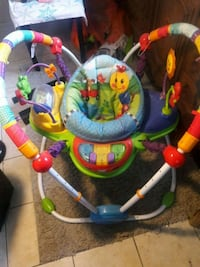 baby's blue and green jumperoo Long Beach, 90805
