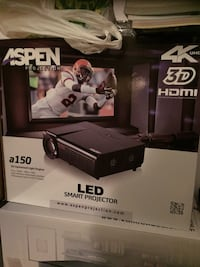 Black aspen led smart projector box Montréal, H2B 2Z9
