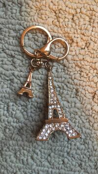 Keychain From Paris France Edmonton, T6W 1N4