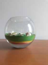 Round clear glass fishbowl Chantilly
