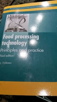 Food processing technology textbook