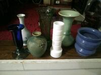 Bundle of assorted vases Calgary, T2T 1H8