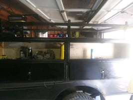 truck tool boxes with ladder racks