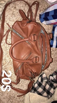 brown leather 2-way bag Oklahoma City, 73099