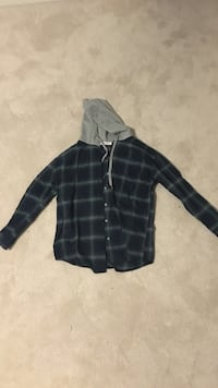 Flannel Shirt with Hood Coquitlam, V3J 3P6
