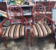 Spider back chairs $175 for both