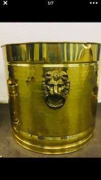 Lion tin can and small other gold tin can Alexandria, 22306