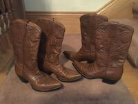 Men's lightly used cowboy boots size 10, 10.5