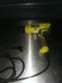 yellow and black DeWalt corded power drill Washington, 20018