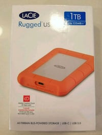 Lacie Rugged USB-C Harddrive