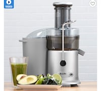Breville Juice Fountain - Used once Surrey, V3T 0B7