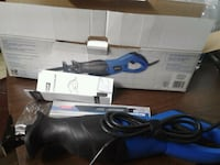 blue and black corded angle grinder Kelowna, V1X 2B3