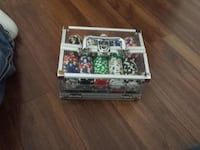 poker chip with carrying case set complete Edmonton