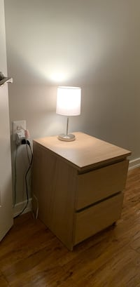 2 drawer night stand for $40 Chantilly, 22033