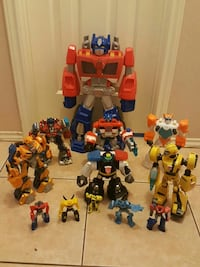 assorted Transformers plastic toys