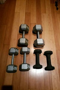Dumbbells 10lbs 25lbs 40lbs Laval, H7T