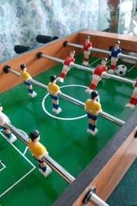 Mini foosball player
