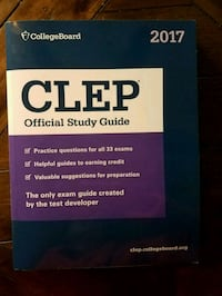 CLEP Official Study Guide (2017) Providence, 02904