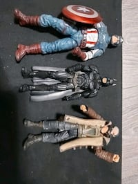 Marvel DC figures America Batman all for $15 Port Coquitlam