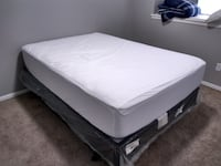 Full Size mattress/box spring/frame OKLAHOMACITY