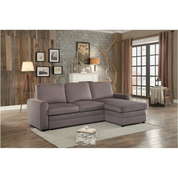 Sectional with Pull-out Bed and Hidden Storage  - Brand New - Free Home Delivery SF bay area