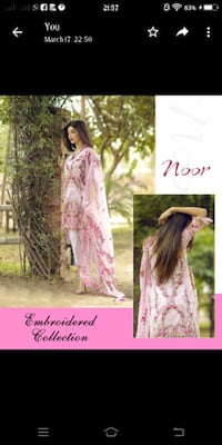 women's pink and white floral dress Mumbai, 400043