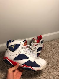"Air Jordan 7 Retro ""Tinker Alternate Olympic"" Pooler, 31322"