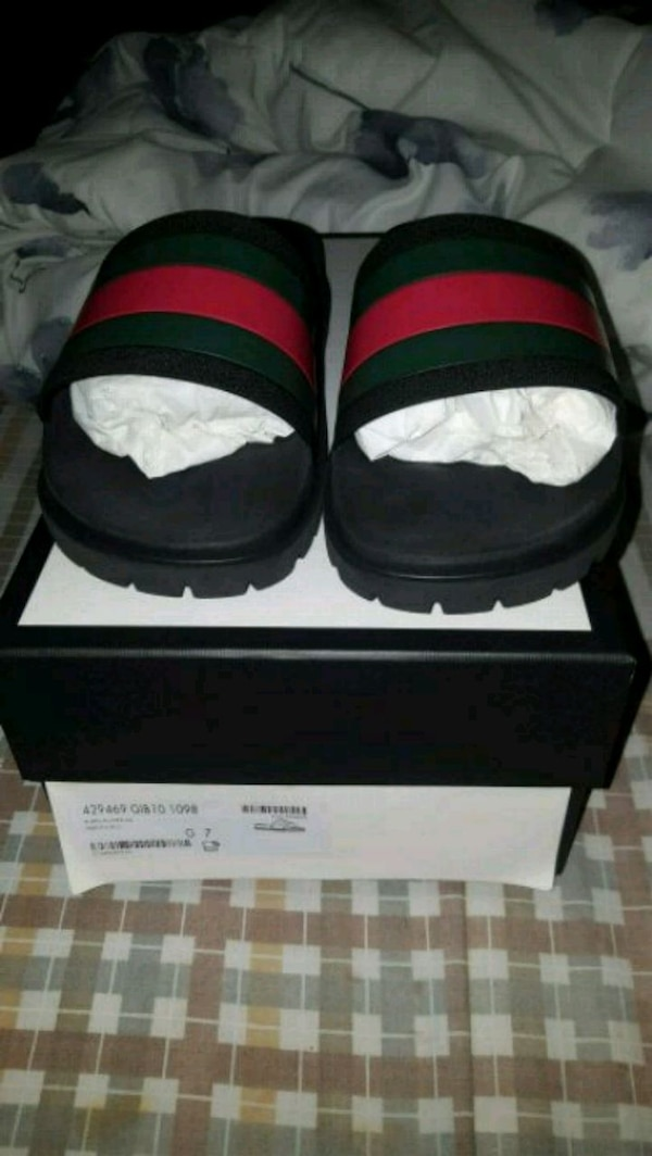 7747e866b Used Gucci slides for sale in Queens - letgo