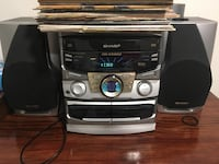 Sharp audio/stereo sound system set West Caldwell, 07006